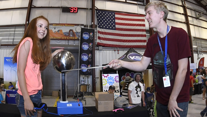 STEM City educates, entertains Hill show-goers of all ages