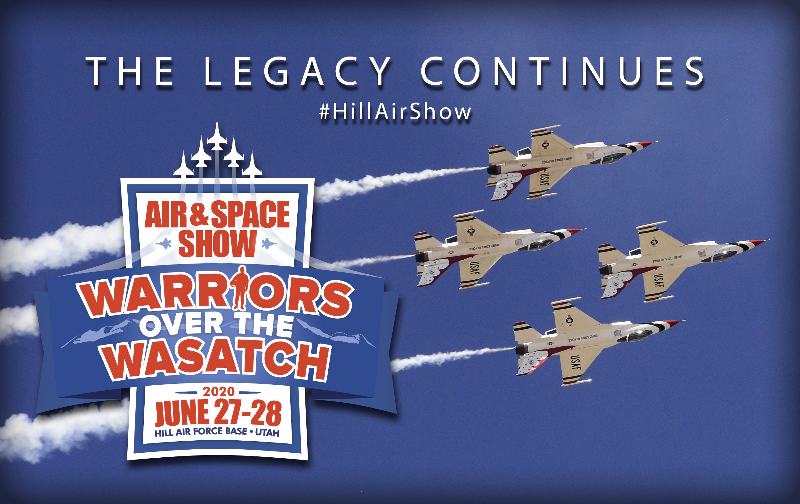 Hill Air Force Base Air Show 2020.Warriors Over The Wasatch